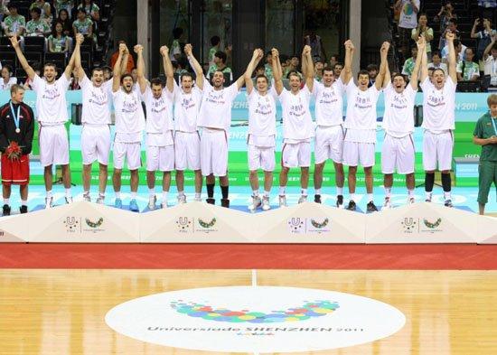 塞尔维亚大运会男篮称霸 匹克成大运会赢家