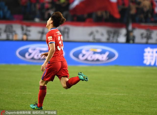 半场-力帆1-0智诚 吴庆助U23小将头球首开纪录