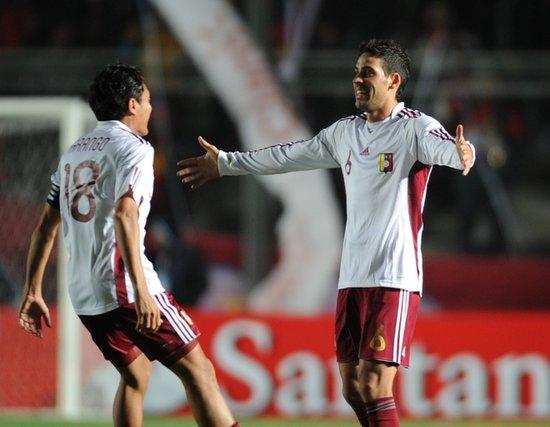 美洲杯-委内瑞拉2-1淘汰智利 半决赛战巴拉圭