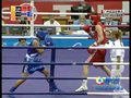 视频:拳击第一回合李金子与泰国选手战平