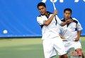 图文:中华台北选手夺得软式网球男双冠军