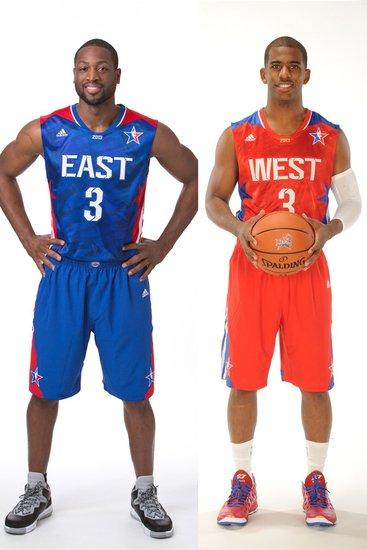 NBA全明星队长火热出炉 韦德与保罗担此大任