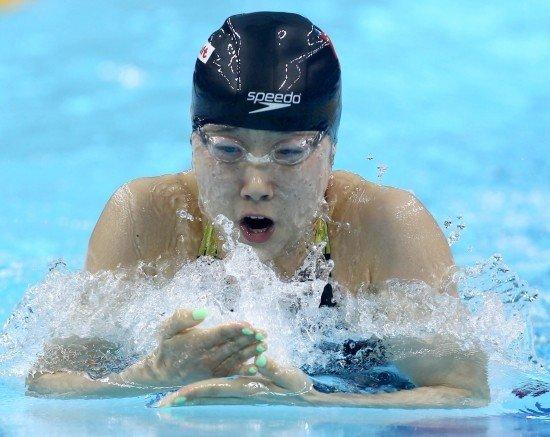孙晔:前程没保存实力 100米蛙泳非主攻项目