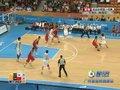 视频:男子篮球小组赛 韩国队突袭得分