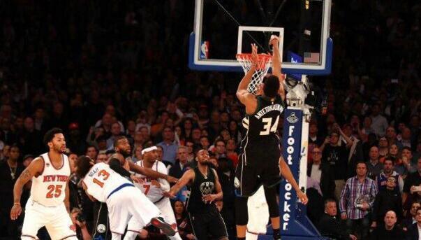 字母哥绝杀球竟是5秒违例 NBA官方承认漏判