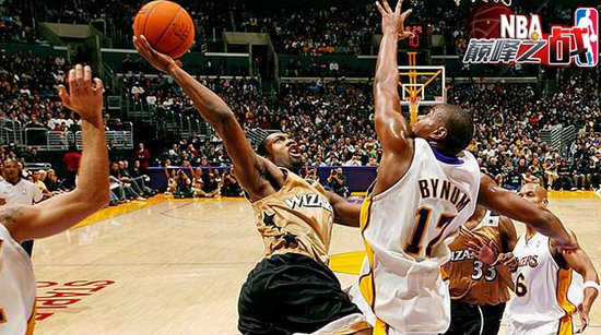 NBA巅峰战之奇才 阿里纳斯狂砍60分压倒科比