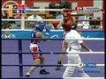 视频:女子拳击48-51公斤级决赛结束第一回合