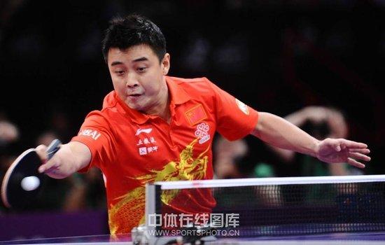 王皓感谢老将让人动容:或是最后一届世乒赛