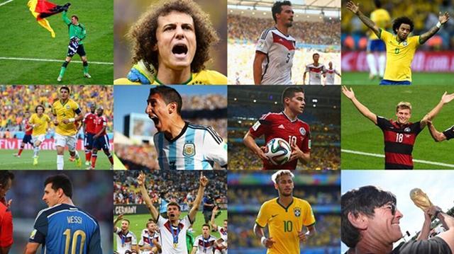 FIFA球迷票选世界杯梦幻阵:梅西内马尔领衔