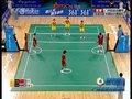 视频:女子藤球决赛 泰国连得5分21-17胜首局