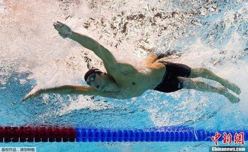 菲尔普斯当美国奥运旗手 坦言比获得奖牌更有意义