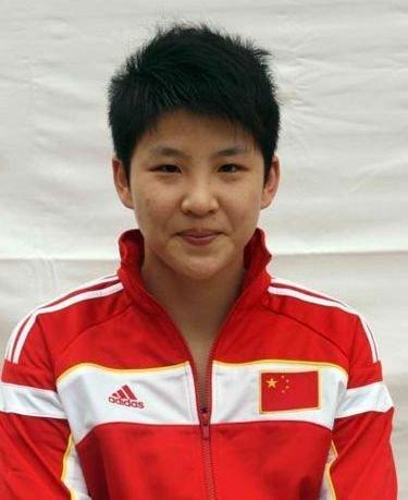中国女排运动员张磊