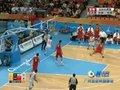 视频:男篮中伊战 伊朗连抢篮板两分命中