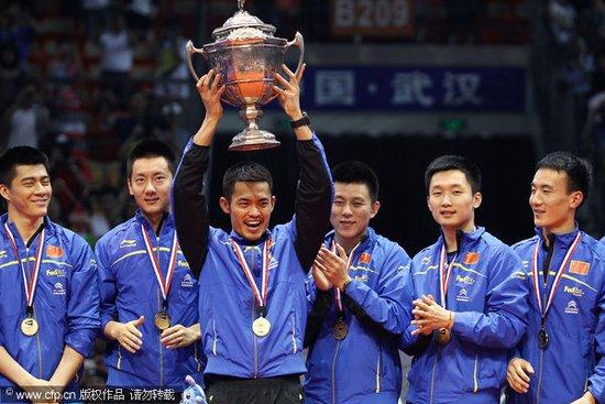 汤杯林丹率中国3-0韩国 首获5连冠第9次捧杯