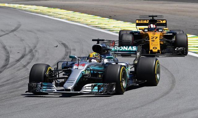 F1车队积分榜:梅赛德斯强势突破600分大关