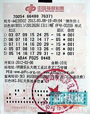 元巨奖_广东顺德20岁小伙10元机选中1000万巨奖(图)