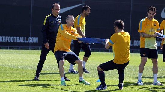 梅西等5名球员将缺席周末比赛