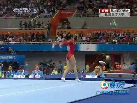 视频:女子体操单项决赛 眭禄自由体操最完美