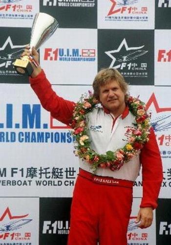 F1摩托艇世锦赛赛手介绍 总冠王斯科特吉尔曼