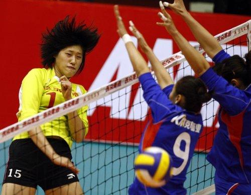 中国女排运动员刘晓彤