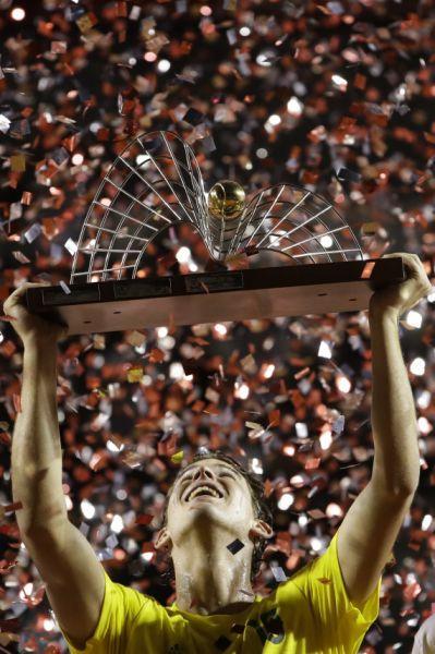 ATP里约赛蒂姆完胜西班牙好手 摘生涯第8冠