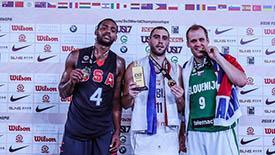3X3世界第1人夺世锦赛MVP 领衔男篮最佳阵容