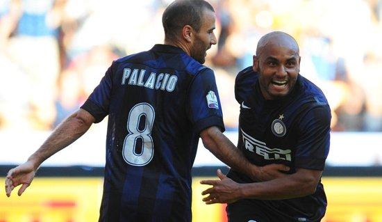 意杯-国米4-0赢新赛季首战 帕拉西奥梅开二度
