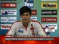 视频:孙杨1500米自打破世界纪录 加冕双冠王