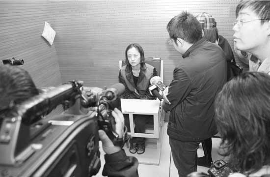作为中间庄家的刘某经营3d黑彩已有5年左右.记者孙振芳摄
