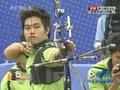 视频:射箭男团1/4决赛 泰国前三箭落后韩国