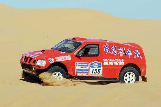丝绸之路中国车手惊艳 周继红闯进赛段前十名