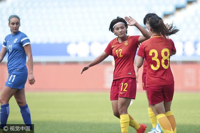 友谊赛-中国女足4-2芬兰 王珊珊破门王霜2助