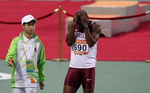 亚运图片回顾之十大失落:张琳受困 女足尴尬