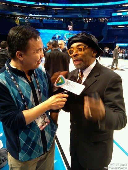 专访斯派克-李:林书豪改变了尼克斯的运气