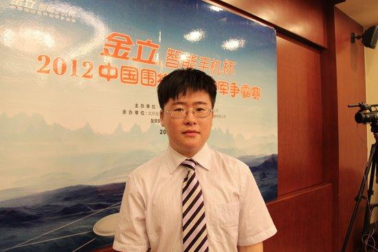 专访江维杰:成绩有下滑 李昌镐是努力的目标