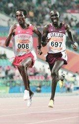 亚运长跑金牌竟来自非洲 西亚外援横扫田径场
