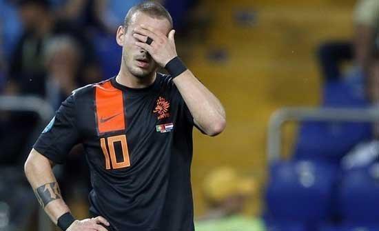 欧洲杯盘点荷兰篇:内讧传统爆发 球队已失控