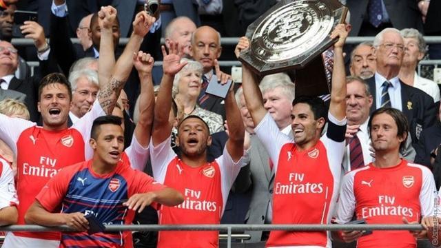 图片:阿森纳3-0曼城比赛精彩瞬间