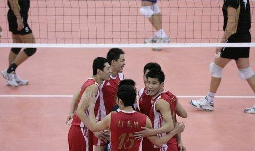 中国男排3-1力克哈萨克斯坦 晋级亚洲杯四强