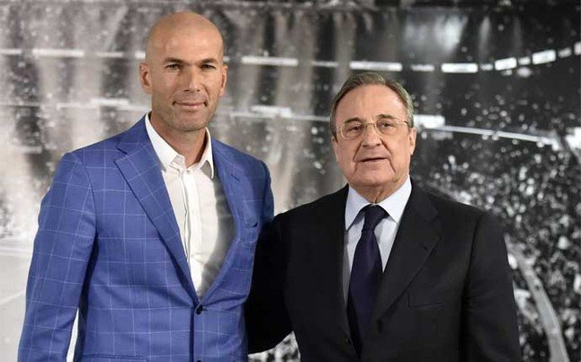 Comment their defences intended to fry zizou Save the rift with real Madrid but noble