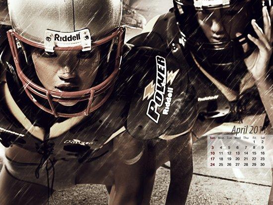 《型动》第23期壁纸下载 2011年月历4-6月