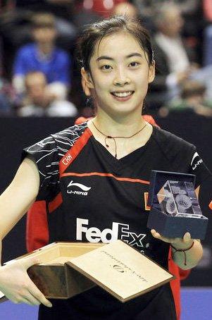 羽毛球名将之中国女子运动员谢王适娴