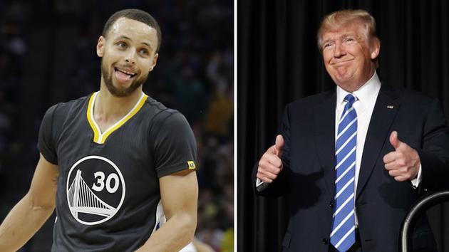 總統川普:來白宮是冠軍巨大的榮耀!Curry不來?我撤銷邀請!
