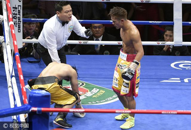 邹市明卫冕战失利 第11回合遭日本拳手TKO击败
