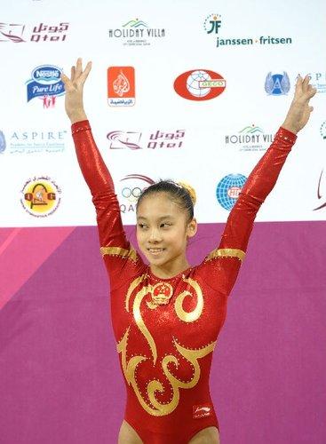 中国体操名将之吴柳芳