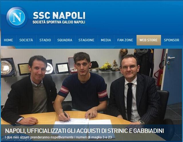 那不勒斯连签两强援 1300万引意大利国脚射手