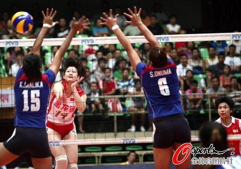 中国女排3-0复仇泰国 大奖赛成都站豪取2连胜