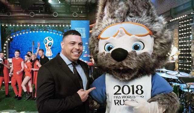 俄罗斯世界杯吉祥物揭晓 萌狼当选受大罗追捧