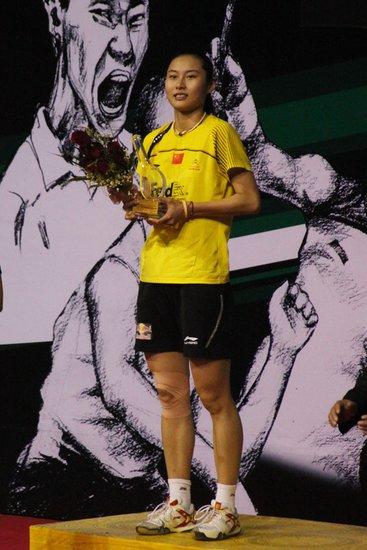 王仪涵四连胜内维尔夺冠 成就年度超级赛女王