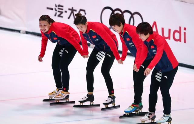 中国短道速滑夺赛季首金 官网:激励后两站比赛